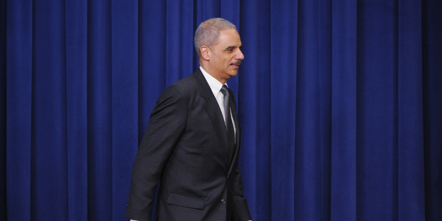 Holder, Too Late, Calls for Transparency on DOJ Torture Investigation