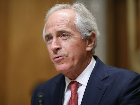 Ethics group urges probe of Corker stock trades