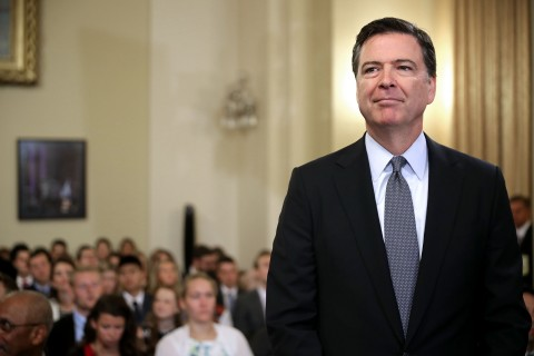 comey-standing