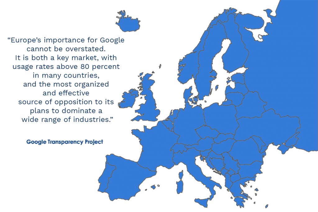 Google's Academic Influence in Europe | Campaign for Accountability